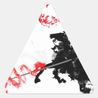 Polish Hussar Triangle Sticker