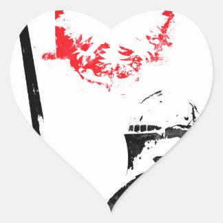 Polish Knight Heart Sticker