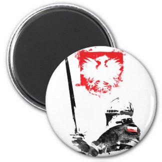 Polish Knight Magnet