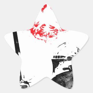 Polish Knight Star Sticker