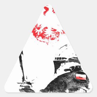 Polish Knight Triangle Sticker