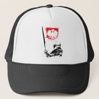 Polish Knight Trucker Hat