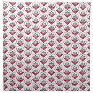 Polish Love Cloth Napkins