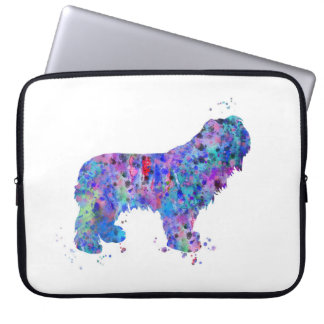 Polish Lowland Sheepdog Laptop Sleeve