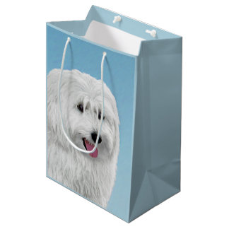 Polish Lowland Sheepdog Medium Gift Bag