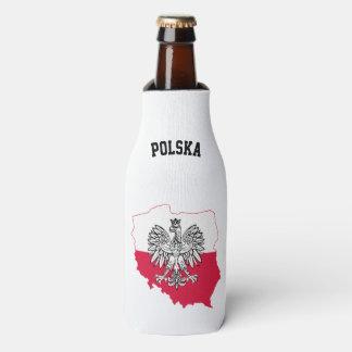 Polish Map Flag Beer Cooler