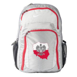 Polish Map Flag Nike Backpack