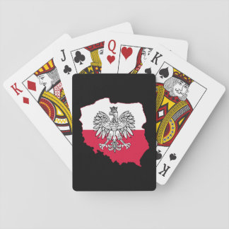 Polish Map Flag Playing Cards