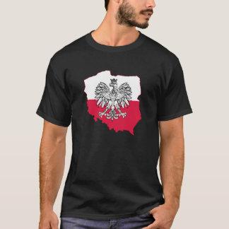 Polish Map Flag T-Shirt