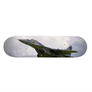 Polish MiG-29 version 9.12A from Base in Malbork 21.6 Cm Old School Skateboard Deck