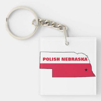 POLISH NEBRASKA KEY RING