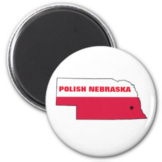 POLISH NEBRASKA MAGNET
