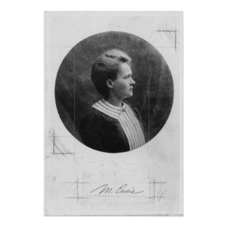 Polish physicist Marie Sklodowska Curie Print