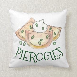 Polish Pierogies Dumpling Potato Pierogi Cuisine Cushion
