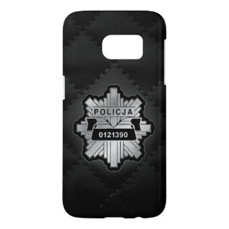 Polish Police Badge Samsung S7 case