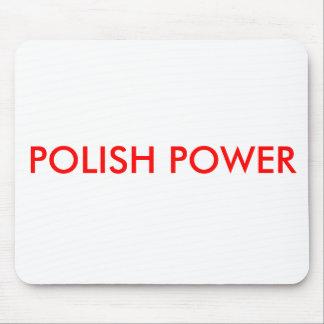 POLISH POWER MOUSE PAD