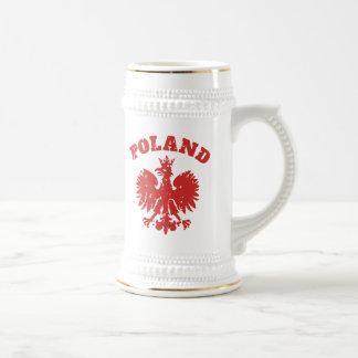 Polish Pride Eagle Symbol Beer Stein