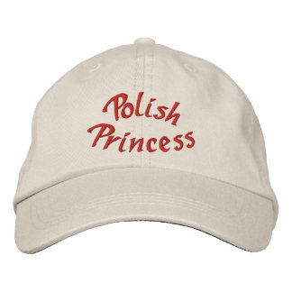 Polish Princess Cute Embroidered Hat