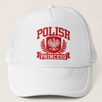 Polish Princess Trucker Hat