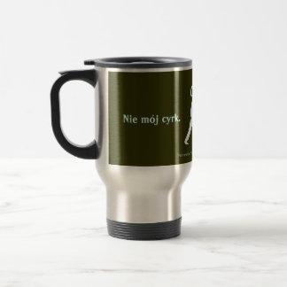 Polish Proverb Stainless Steel Travel Mug