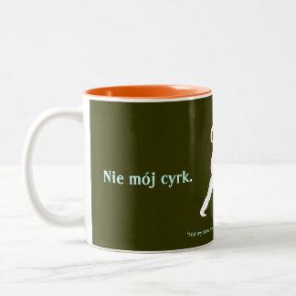 Polish Proverb Two-Tone Coffee Mug