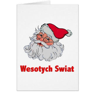 Polish Santa Claus #2 Card