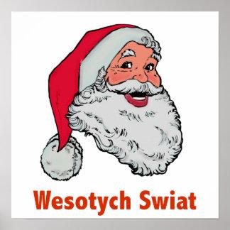 Polish Santa Poster