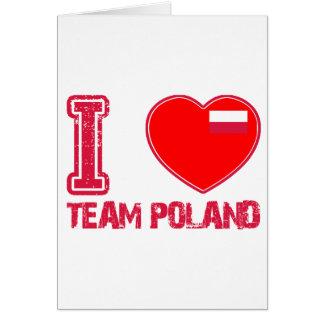 POLISH sport designs Cards