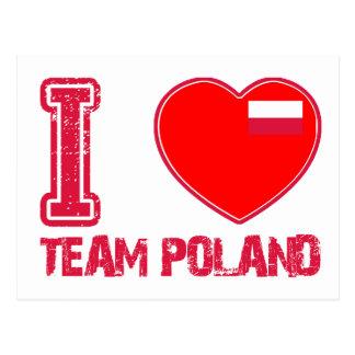 POLISH sport designs Postcard