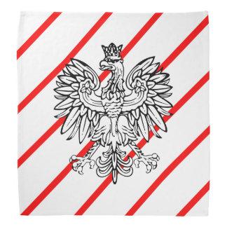 Polish stripes flag bandana