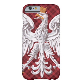 Polish White Eagle Plaid iPhone 6 Barely Barely There iPhone 6 Case