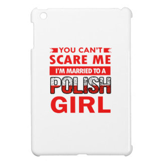 Polish Wife iPad Mini Cover