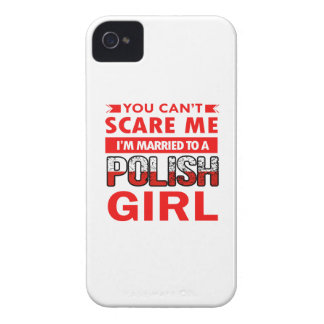 Polish Wife iPhone 4 Cases