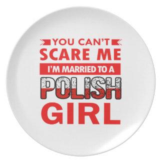Polish Wife Plate