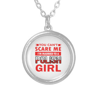 Polish Wife Silver Plated Necklace