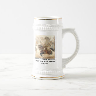 POLISH WINGED HUSSARS BEER STEIN
