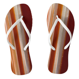 Polished Agate Slice Photo Thongs