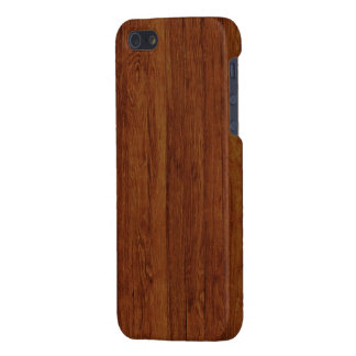 Polished Bamboo Wood Texture Pattern iPhone 5 Cases