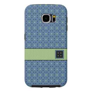 Polished Contemporary in Fresh Blue & Green: Samsung Galaxy S6 Cases