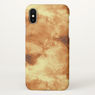 Polished Gold iPhone X Case