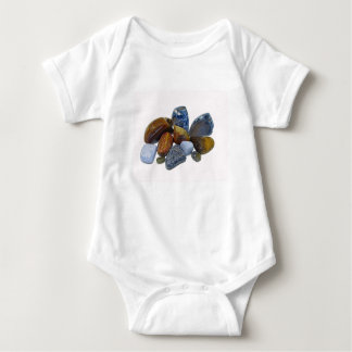 Polished Rocks Baby Bodysuit
