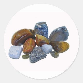 Polished Rocks Classic Round Sticker