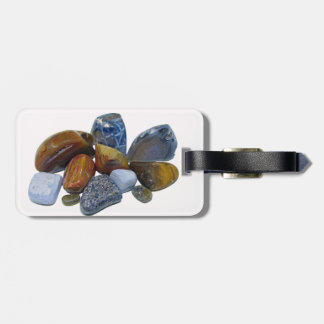 Polished Rocks Luggage Tag