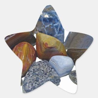 Polished Rocks Star Sticker