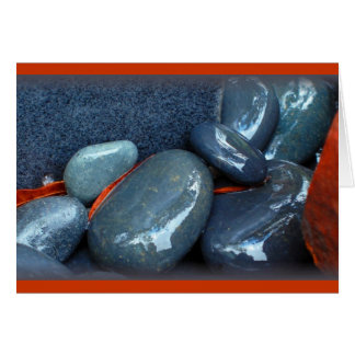 """Polished Stones"" Card"