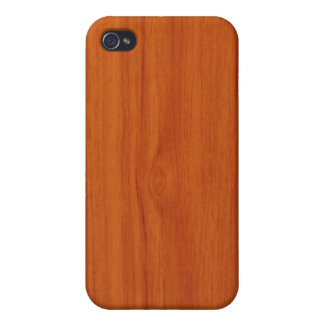 Polished Wood IPhone Case Case For The iPhone 4