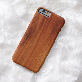 Polished Wood Pattern iPhone 6 case