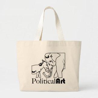 Political Art Tote Bags