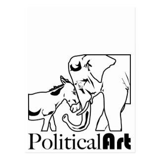 Political Art Postcard