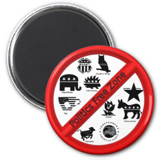 Political Campaign Repellent Magnet